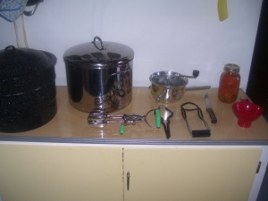 Canning tools used